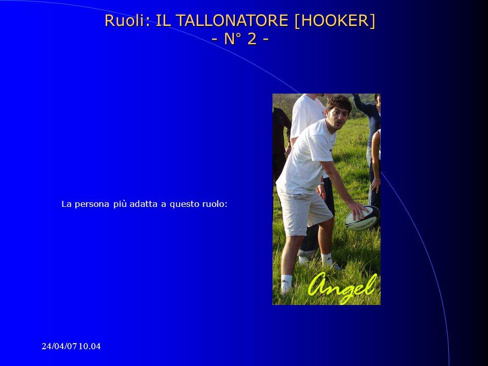 Ruoli: IL TALLONATORE [HOOKER] - N° 2 -